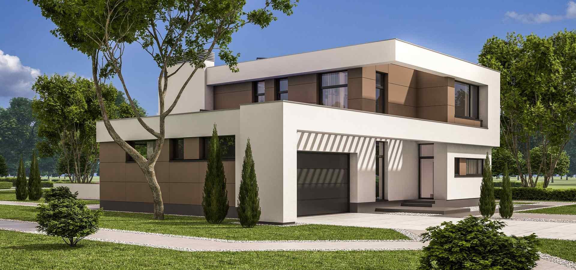 Projekt moderního rodinného domu